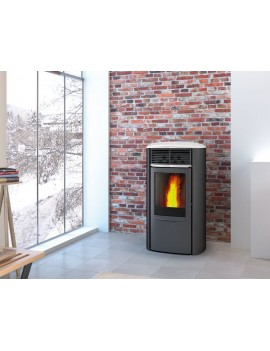 Stufa a pellet Edilkamin Aris Up2 Plus 8 KW con 4 stelle